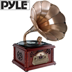 Turntable with USB Record  Model# PTCDCS3UIP