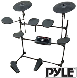 Drum Kit With MP3 Recorder  Model# PED02M