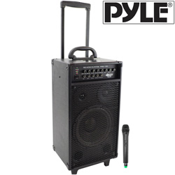 800 Watt Portable PA System&nbsp;&nbsp;Model#&nbsp;PWMA1080I
