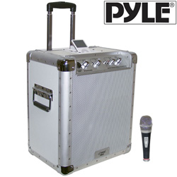 Portable PA System with iPod Dock&nbsp;&nbsp;Model#&nbsp;PCMX240I