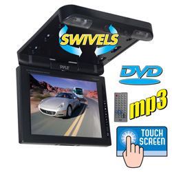 10.4 Inch LCD Auto DVD Monitor  Model# PLRD103IF