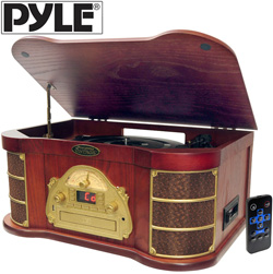 Turntable/CD/USB Record  Model# PTCDS1U
