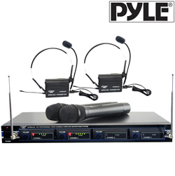 4 Mic VHF Wireless Rack Mount  Model# PDWM4300