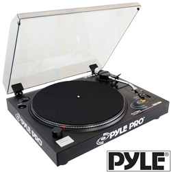 Belt Drive USB Turntable&nbsp;&nbsp;Model#&nbsp;PLTTB3U