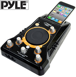 Ipod DJ Player with Scratch  Model# PDJSIU100