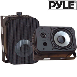 Waterproof Speakers-Black  Model# PDWR40B