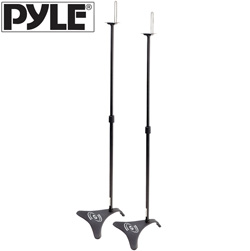 Adjustable Height Speaker Stands  Model# PHSTD1