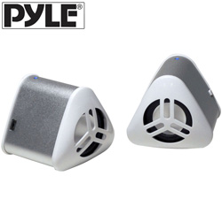 Mini Speakers-White  Model# PMNP2S