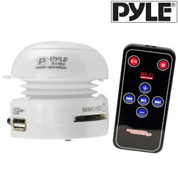 Mini Speaker USB/SD-White&nbsp;&nbsp;Model#&nbsp;PMSU1W