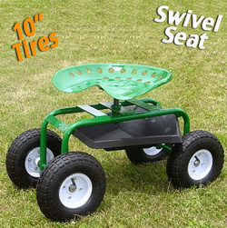 Tractor Seat on Wheels  Model# GC-400R