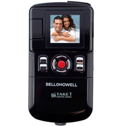 USB Slide-Out Digital Camera/Camcorder  Model# T100(BLK)