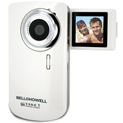 USB Slid-Out Digital Camera/Camcorder  Model# T100(WHT)