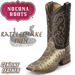 Black Cherry Diamondback Rattlesnake Boots  Model# MD6201