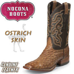 Brown Vintage Full Quill Ostrich Boots&nbsp;&nbsp;Model#&nbsp;MD6503