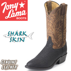 Tony Lama Shark Skin Boots  Model# CZ6969
