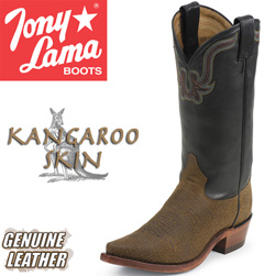 Tony Lama Kangaroo Skin Boots&nbsp;&nbsp;Model#&nbsp;CZ6982