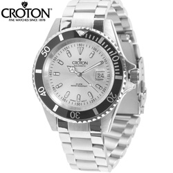 Croton Aquamatic Watch  Model# CA301157BKSL