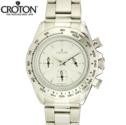 Croton Chronograph Watch  Model# SP399067SSSL