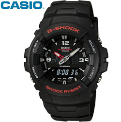 Casio Mens G-Shock Watch&nbsp;&nbsp;Model#&nbsp;G100-1BV