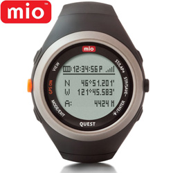 Mio Quest HR Watch-Black  Model# 0040USGPS