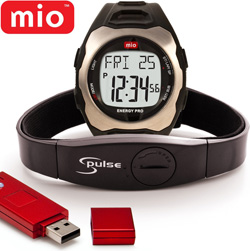 MIO Energy Plus HR Watch  Model# 0034USBLK