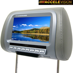 Dual 7 Inch LCD Headrest&nbsp;&nbsp;Model#&nbsp;THR700G