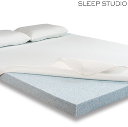 2 Inch Gel Memory Foam Topper  Model# 6232204Twin