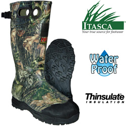 Itasca 1000g Swampwalker Rubber Boots&nbsp;&nbsp;Model#&nbsp;687375