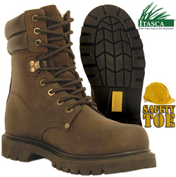 Itasca Steel Toe Force 10 Boots&nbsp;&nbsp;Model#&nbsp;509020