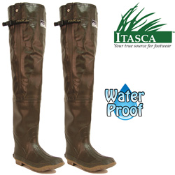 Itasca Rubber Hip Waders  Model# 633070