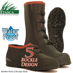 Itasca Mud Walker 5 Buckle Rubber Overshoes&nbsp;&nbsp;Model#&nbsp;686405