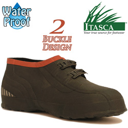 Itasca Mud Walker 2 Buckle Rubber Overshoes  Model# 686400