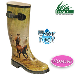 Itasca Women's Misty Pony Rubber Boots  Model# 689700
