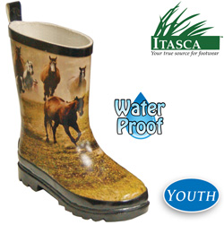 Kid's Misty Pony Rubber Boots  Model# 689600