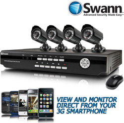 Swann 4-Channel DVR/4 Cams  Model# SWDVK-426004