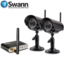Swann 2-Cam Digi Wrls Kit  Model# SW322-YD2