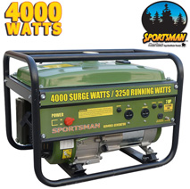 Buffalo Tools 4000W Gas Generator  Model# H05989L