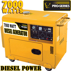 Buffalo Tools Pro Series 7000 Watt Diesel Generator  Model# H07196L