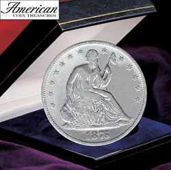 Seated Liberty Silver Half Dollar  Model# 2075
