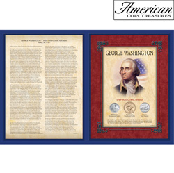 Famous Speech Series - George Washington First Inaugural Address  Model# 10238