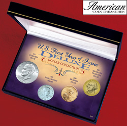 U.S. First Year of Issue Deluxe Dollar Collection  Model# 8121