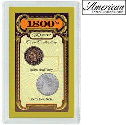 1800's Rare Coin Collection&nbsp;&nbsp;Model#&nbsp;1634