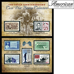 150th Anniversary Civil War Commemorative Stamp Collection&nbsp;&nbsp;Model#&nbsp;11120