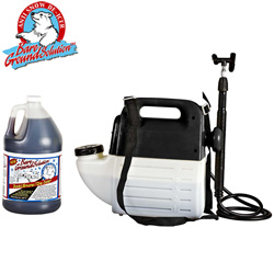 Battery Powered Sprayer &amp; 1 Gallon Liquid Deicer&nbsp;&nbsp;Model#&nbsp;BGPS-1