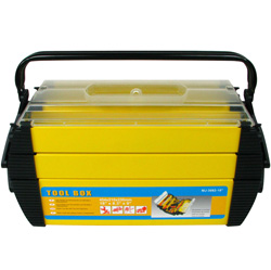 Deluxe Steel/Plastic Tool Box  Model# 75-3082