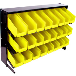 24 Bin Parts Storage Rack  Model# 75-24BIN