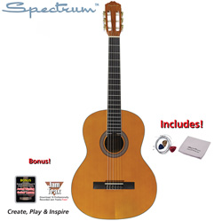 Hand Crafted Classical Acoustic Guitar  Model# AIL 39Y