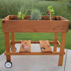 Patio Garden Box  Model# 10620