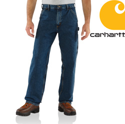 Carhartt® Washed Work Jean - Deep Stone  Model# B13