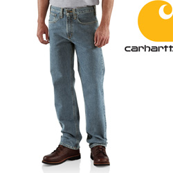 Carhartt® Traditional Fit Straight Leg Jean - Light Vintage  Model# B480
